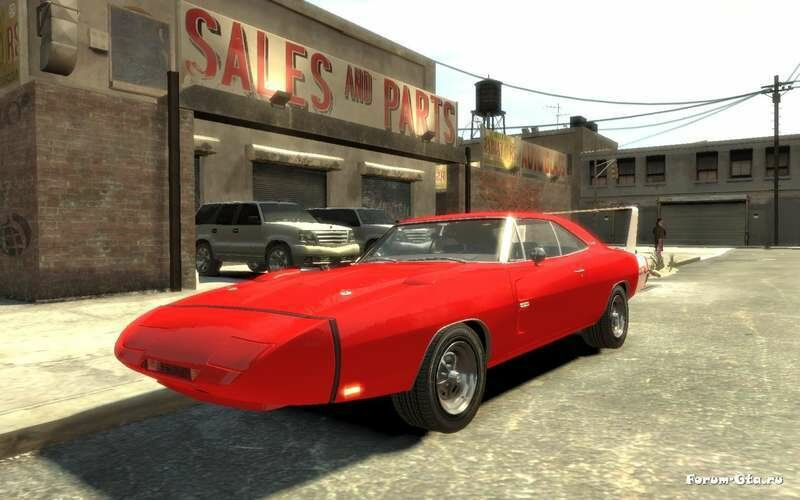 GTA 4 Dodge Charger Daytona