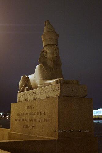 Сфинксы, вывезенные из Египта (установлены в 1834г), Санкт-Петербург