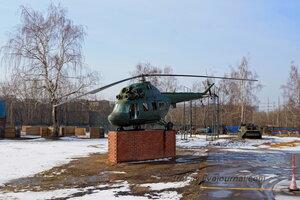 Вертолет Ми-2, РОСТО Кузьминки, Москва