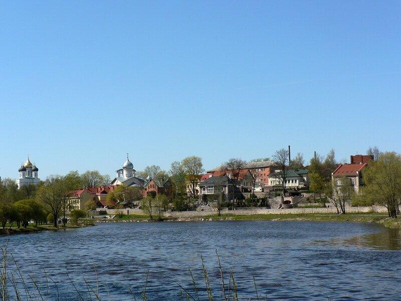 Псков. Панорамы реки Псковы