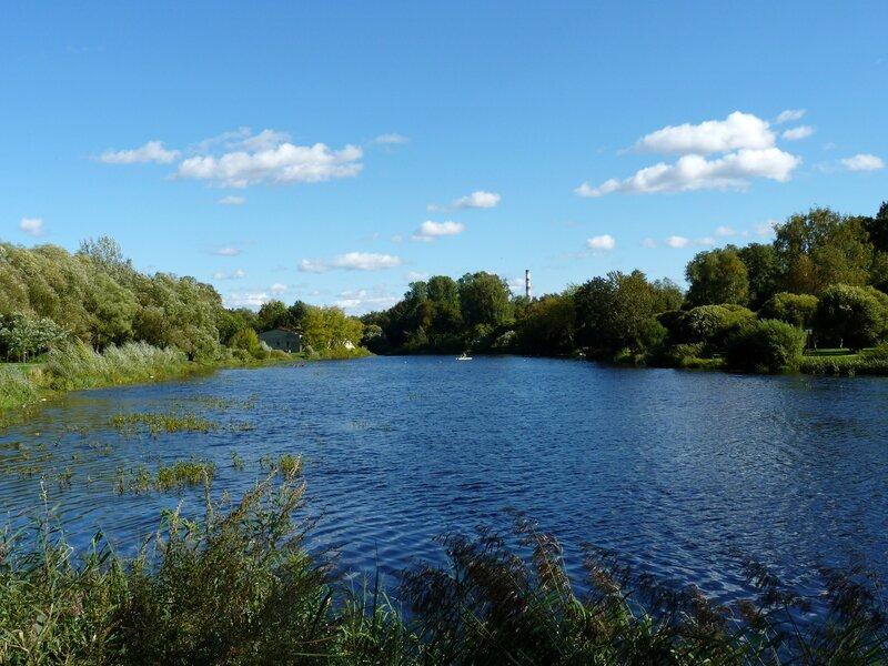 Панорама реки Псковы