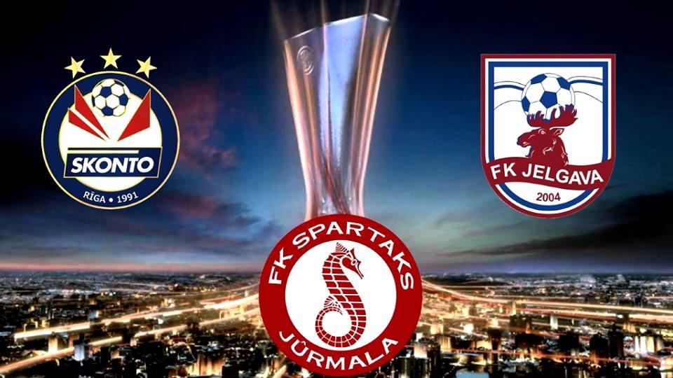 Успех латвийских клубов в первом раунде Лиги Европы