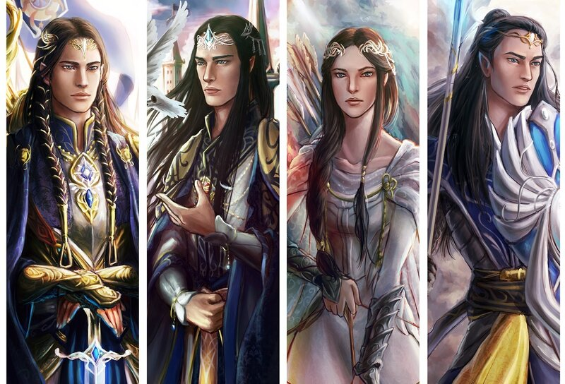 Children of Fingolfin by Niyochara.png