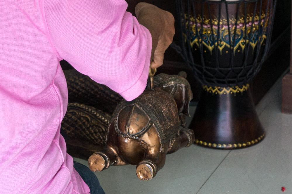 Ват Саманраттанарам храм розового Ганеши