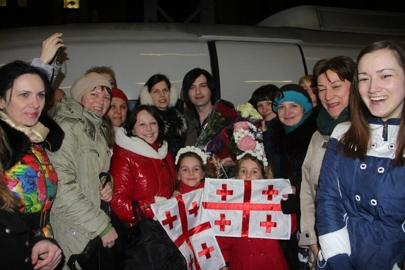 Встреча на вокзале в Санкт-Петербурге 3 апреля