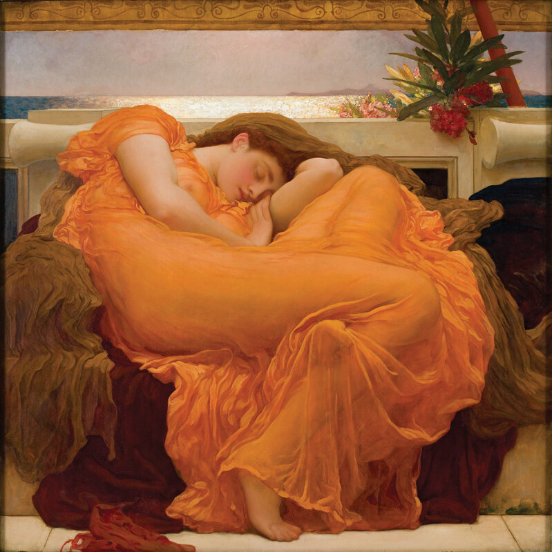 Flaming June, by Fredrick Lord Leighton 1895