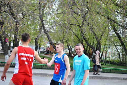 Легкоатлетическая эстафета - 2014