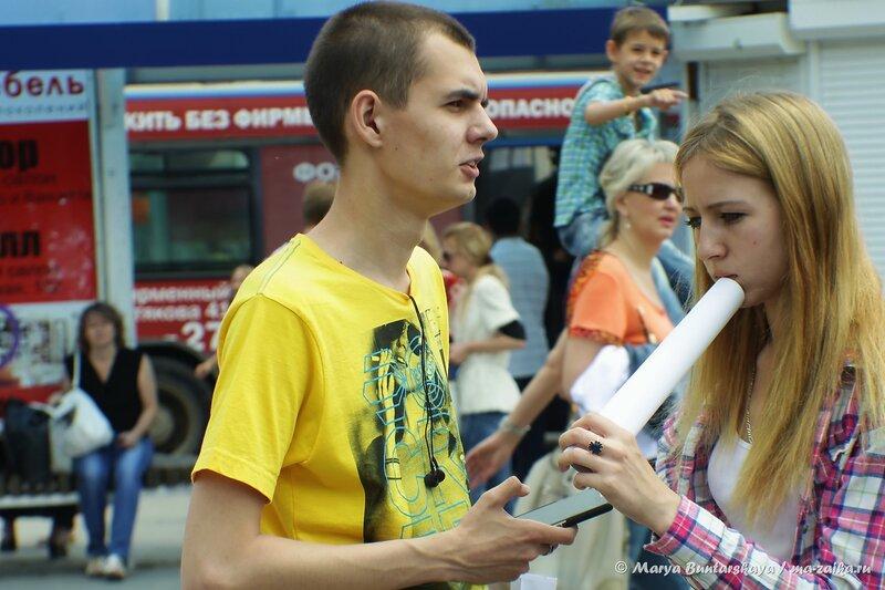 Обнимашки, Саратов, проспект Кирова, 21 июня 2014 года