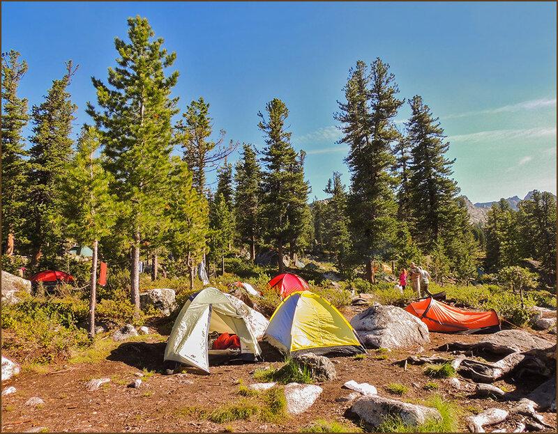 Наш лагерь на Перекрёстке