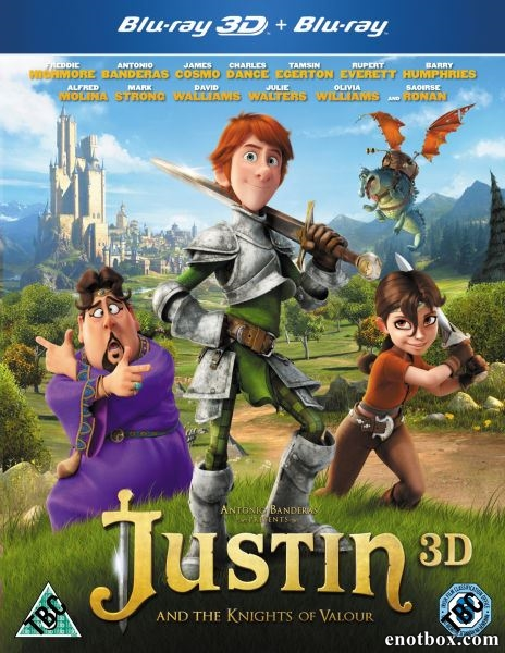 Джастин и рыцари доблести / Justin and the Knights of Valour (2013/BDRip/HDRip)