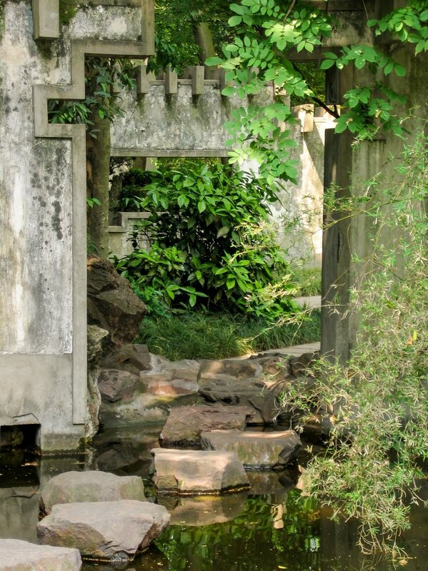Арка на берегу пруда, Люхэта, Ханчжоу