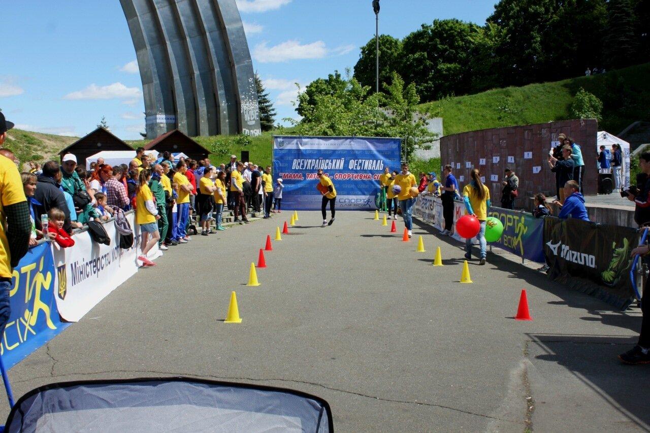 Спортивный фестиваль под Аркой Дружбы народов