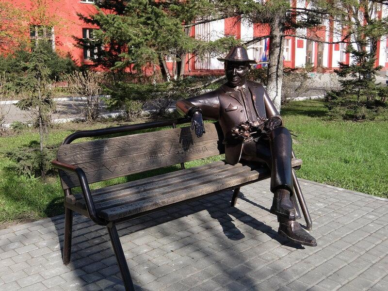 Барнаул - Памятник несчастному влюбленному