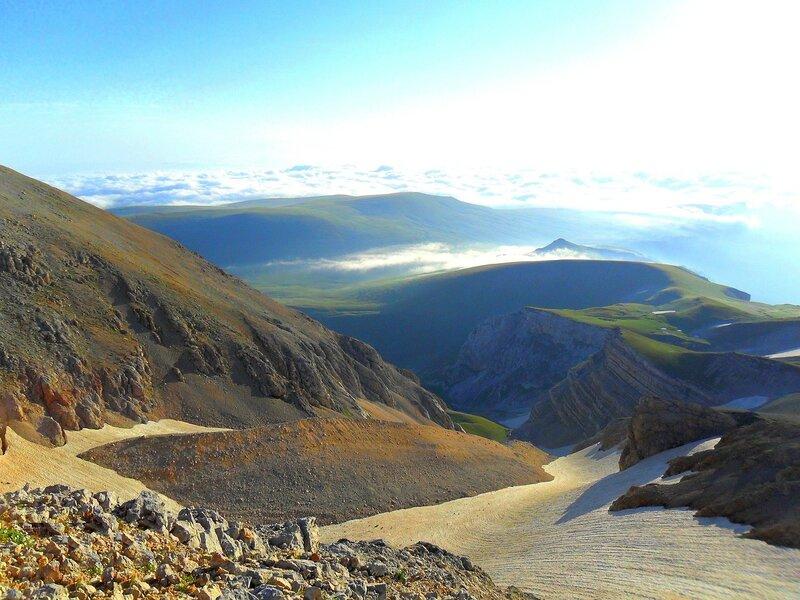 Июль 2010, Кавказ, туризм,