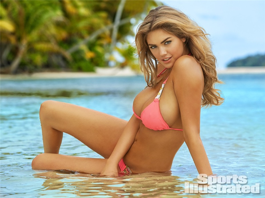Кейт Аптон в купальниках Sports Illustrated Swimsuit 2014 - Kate Upton by James Macari in the Cook Islands