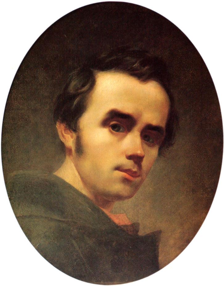 selfie / Self-portrait / Автопортрет, Тарас Шевченко, 1840