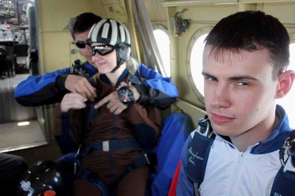 Ростовский аэроклуб - Подготовка к прыжку