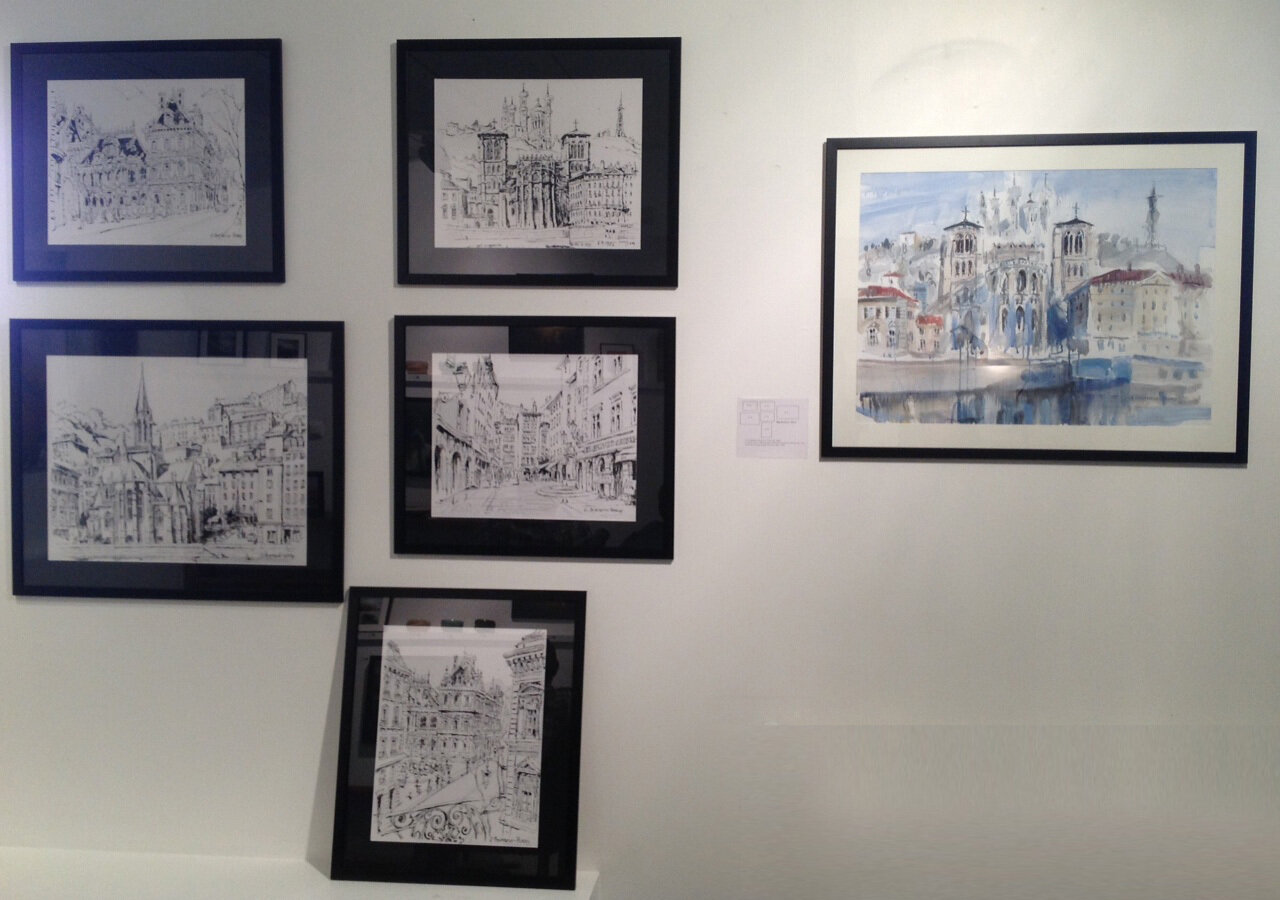 013. Lyon. Galerie Atelier 28. 2014