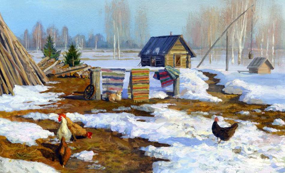 картинки с изображением весны в деревне сайте мэрии