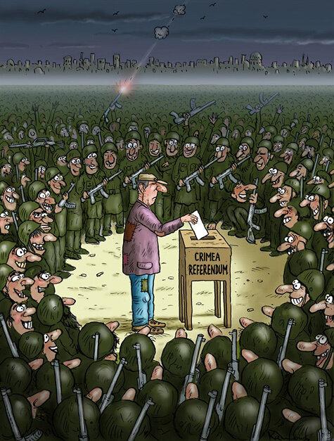 Crimea referendum © Marian Kamensky