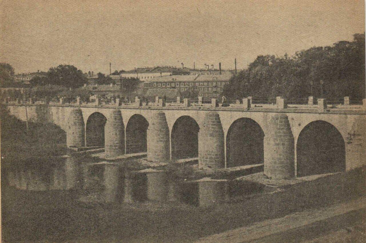 Дворцовый мост на Яузе