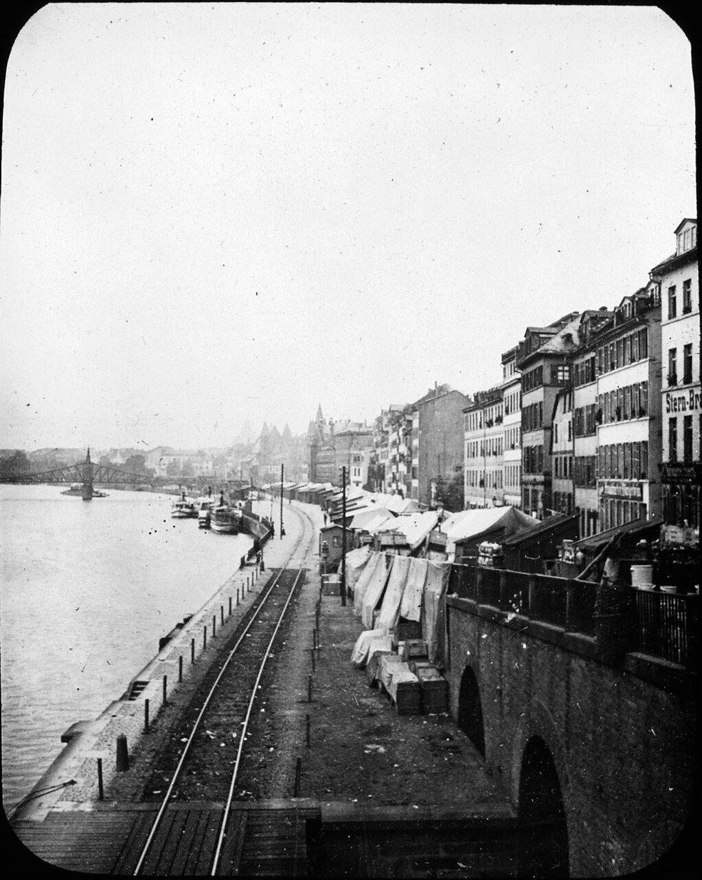 Франкфурт. Река Майн. 1907