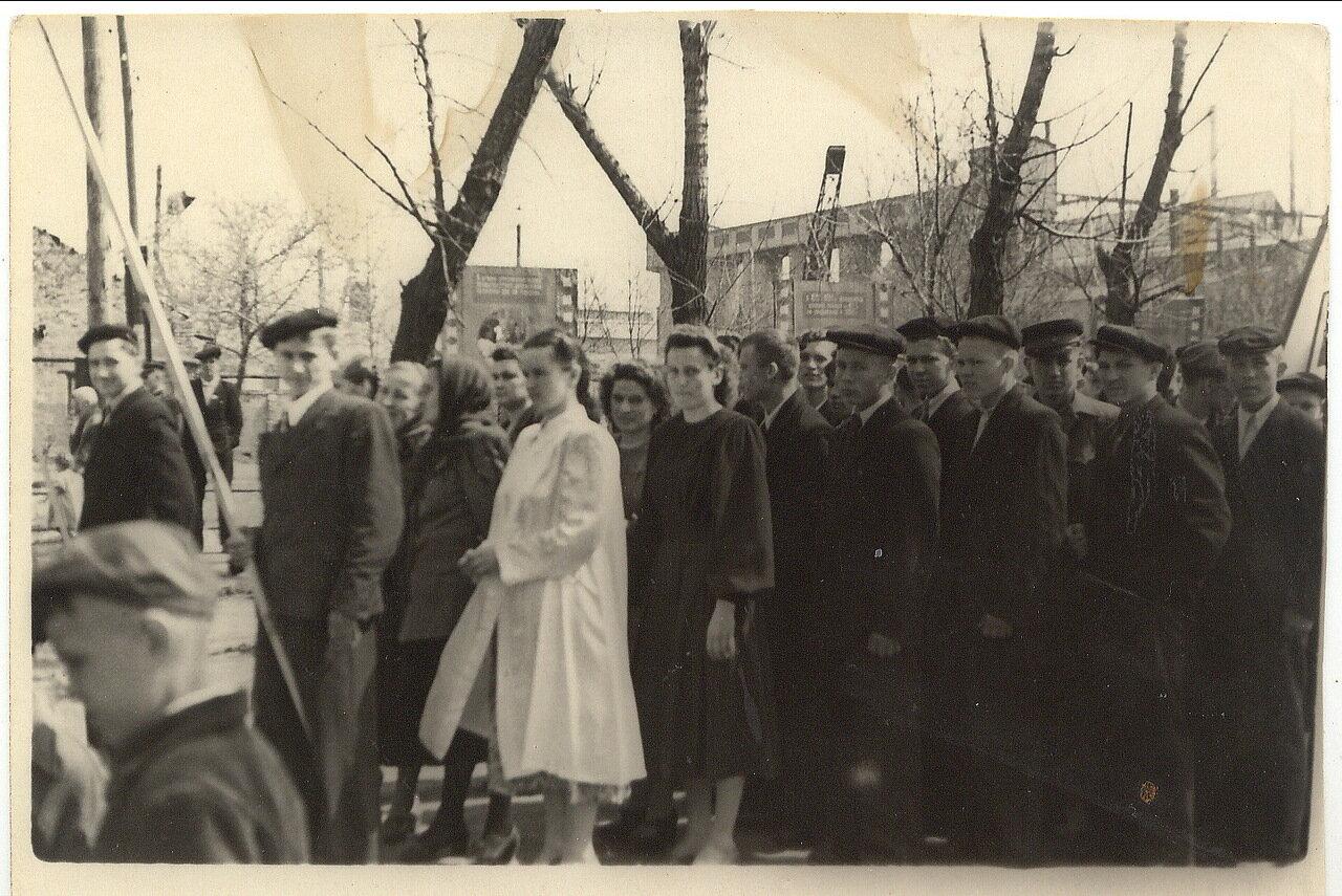 1951. Первомайская демонстрация в Пантелеймоновке