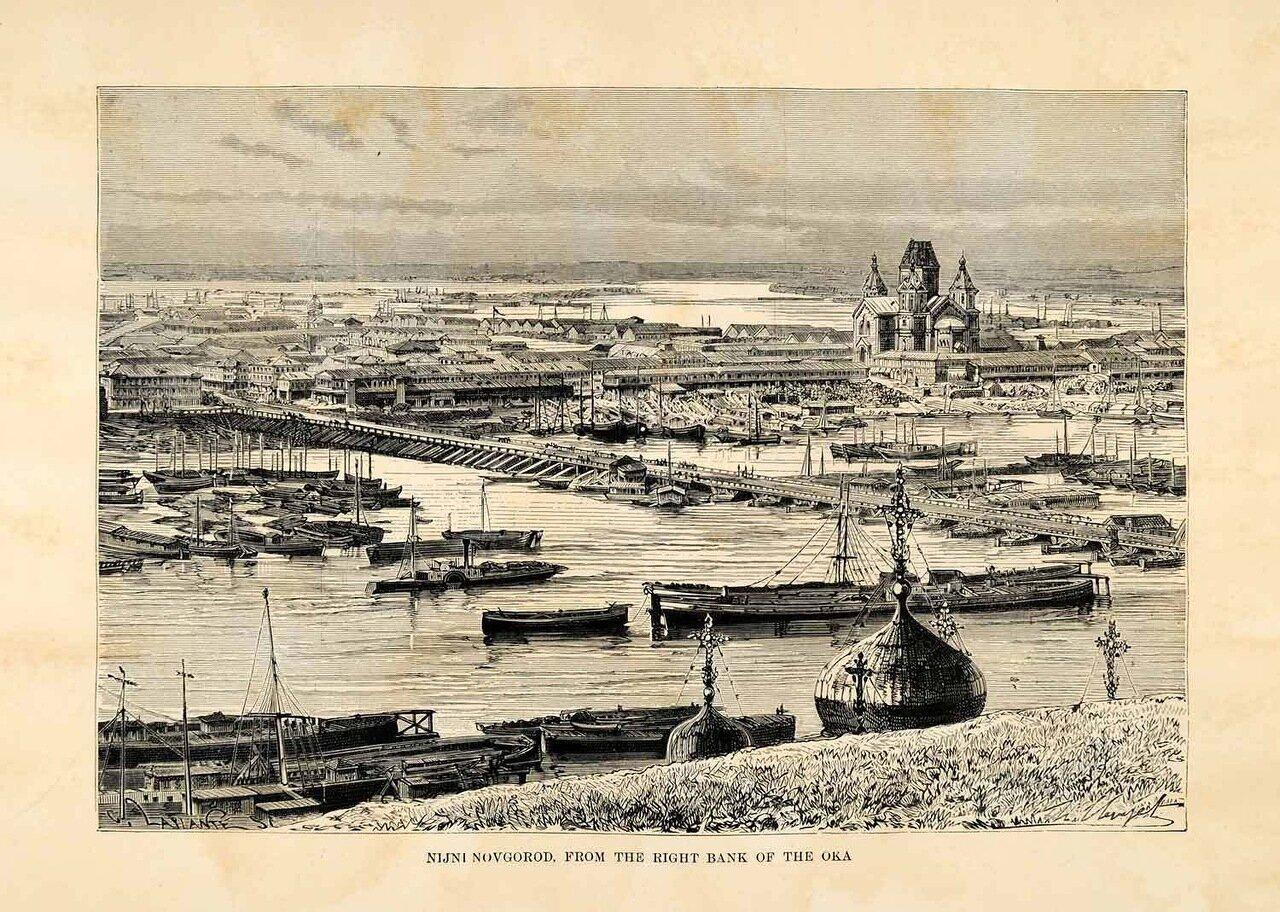 Нижний Новгород. Вид с правого берега реки