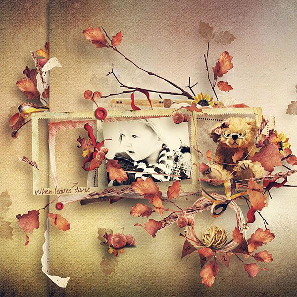 Scrap kit When The Leaves Dance