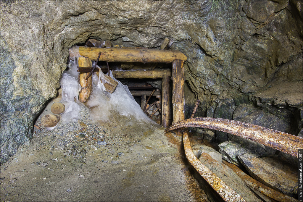 Заброшенная золоторудная шахта - Прииск №9