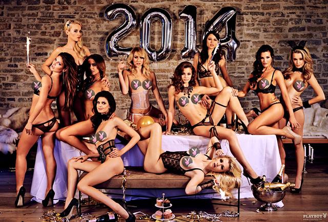 Der Playmate Kalender 2014