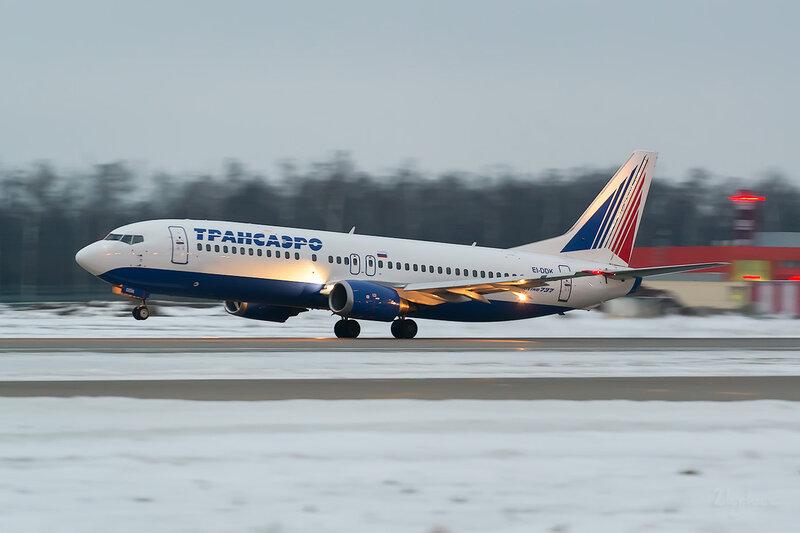 Boeing 737-4S3 (EI-DDK) Трансаэро D803562a
