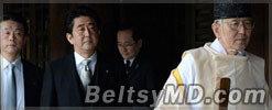 Жест японского премьера разозлил Китай и Южную Корею