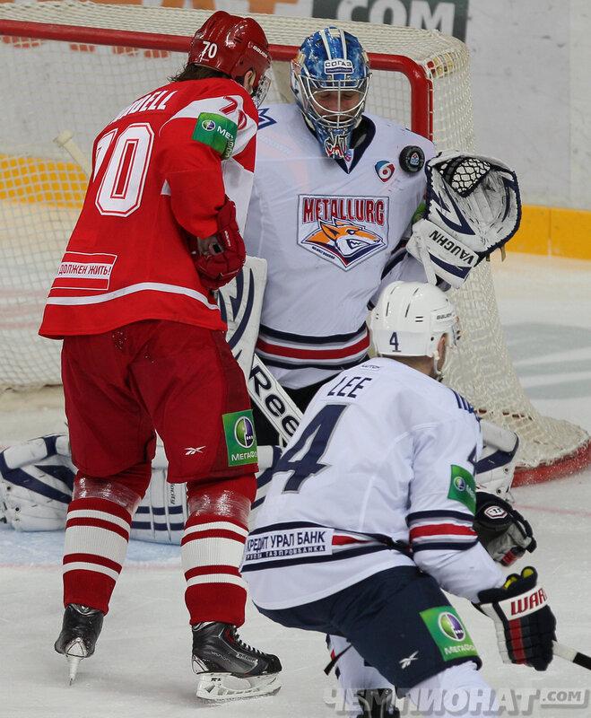 «Спартак» vs «Металлург» Мг 1:6 чемпионат КХЛ 2013-2014 (Фото)