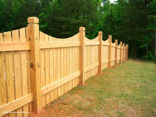 Деревянные заборы – практичная красота