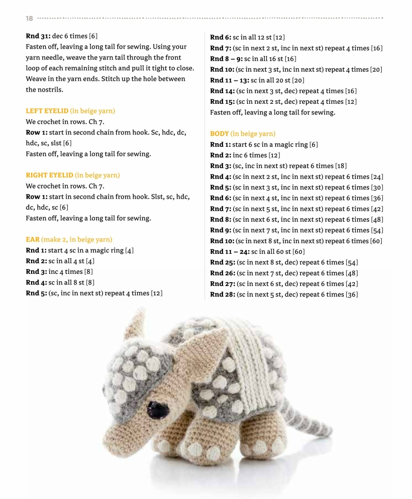 AMIGURUMI PARENT AND BABY ANIMALS - 编织幸福 - 编织幸福的博客