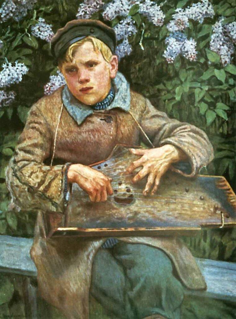 Юный музыкант. 1920-е.jpg