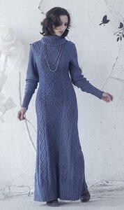 Кельтская песня аранов - платье спицами