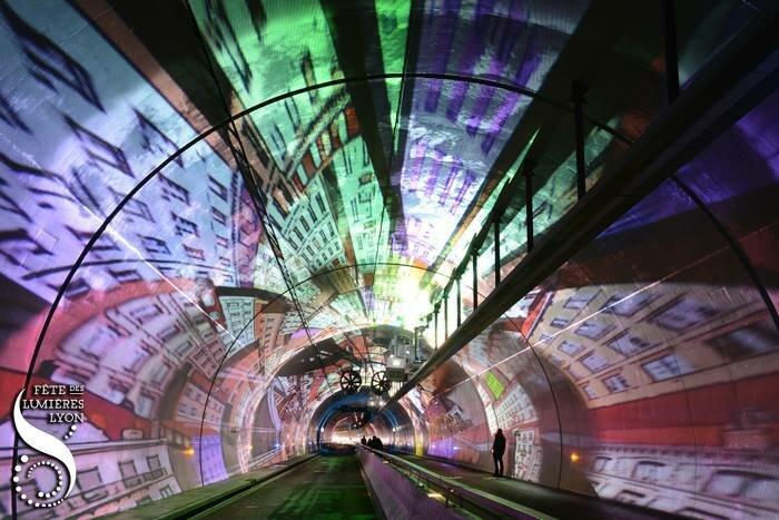 Фестиваль огней в Лионе - музей световых иллюзий