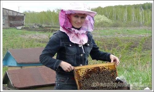 пчелы - женская слабость Нины
