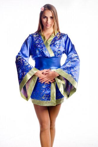 Женский карнавальный костюм Гейша