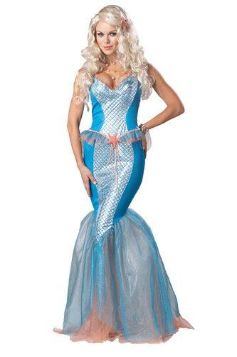 Женский карнавальный костюм Русалка