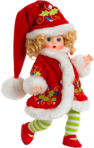 кукла новогодняя