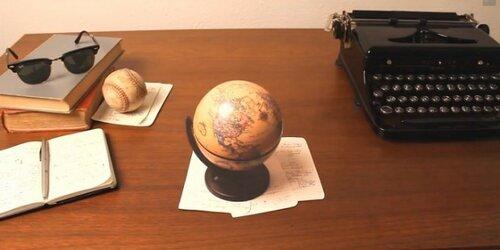 Забавные иллюзии на простом письменном столе
