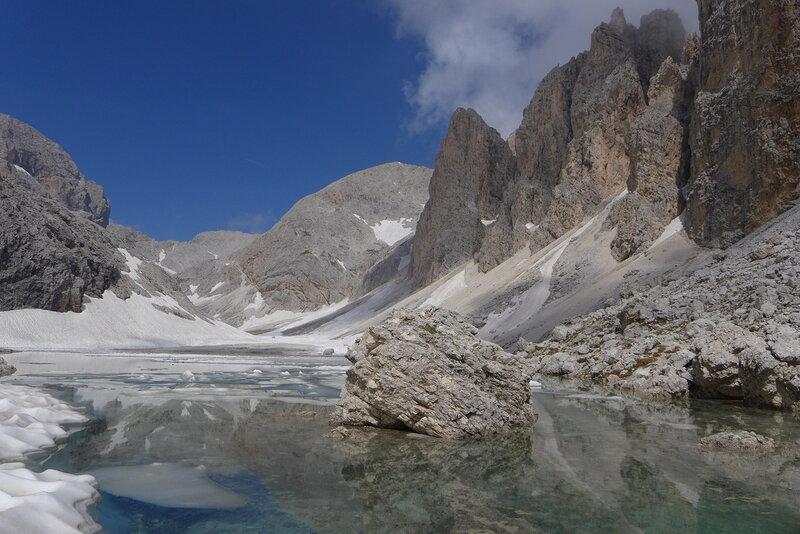 Ледниковое озеро Antermoa