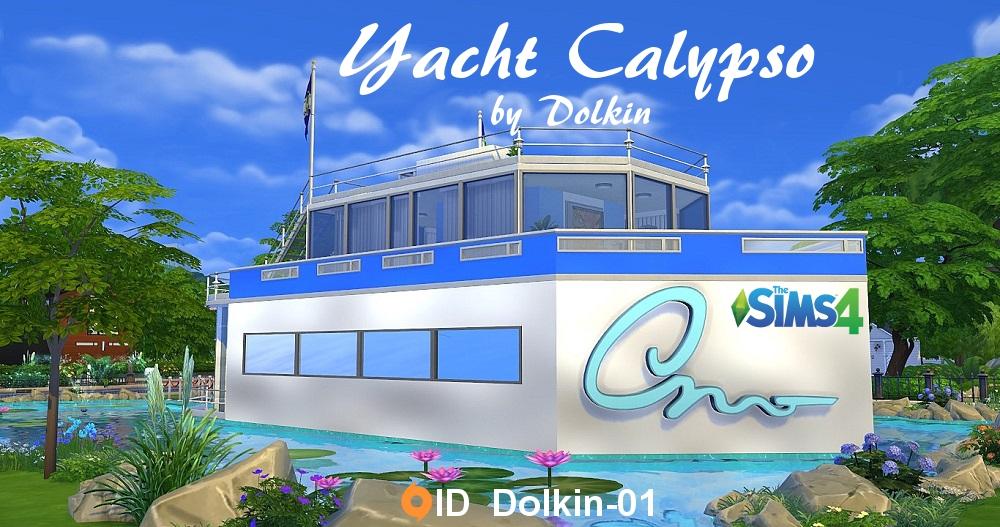 Yacht Calypso by Dolkin