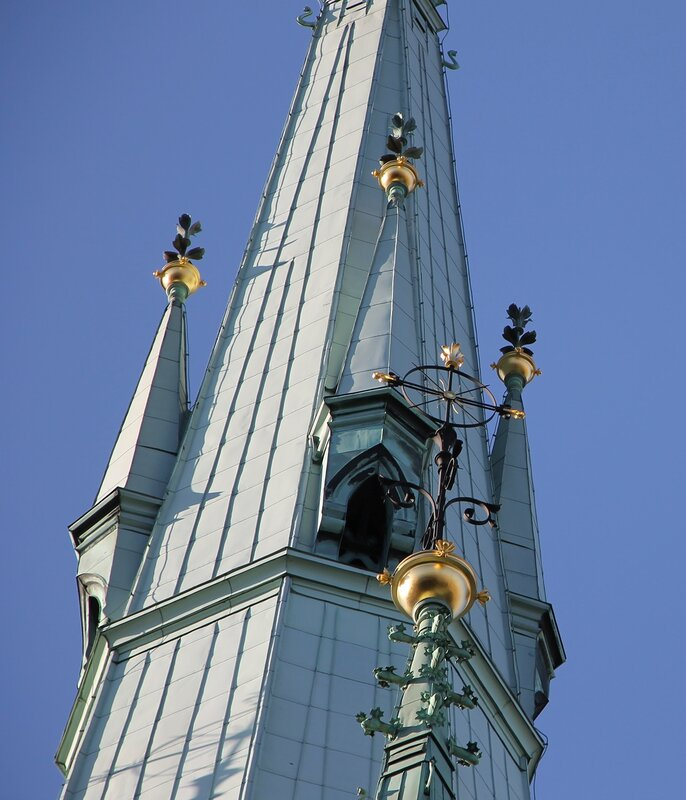 Стокгольм, церковь Святой Клары. Stockholm, Klara kyrka, The Church of Saint Clare