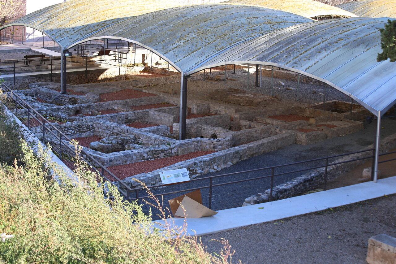 Таррагона. Музей раннего християнства. некрополь
