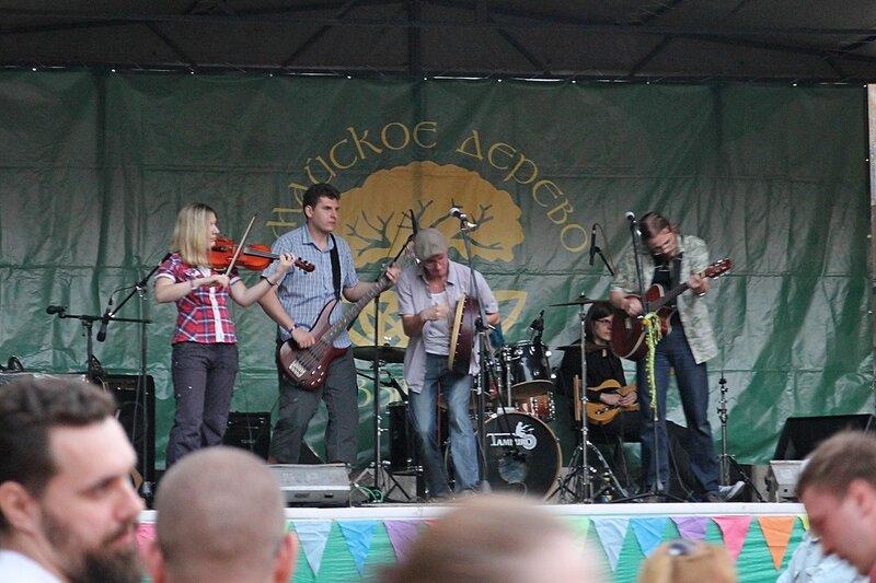 Выступление группы Later на фестивале «Майское дерево 2014»