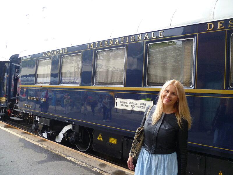 Будапешт. Поезд «Восточный экспресс»